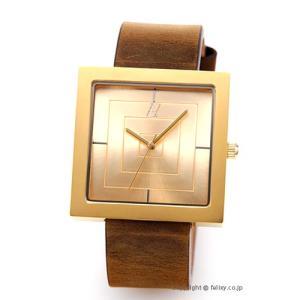 アライブ アスレティックス ALIVE ATHLETICS 腕時計 THE VAULT Gold/Brown trend-watch
