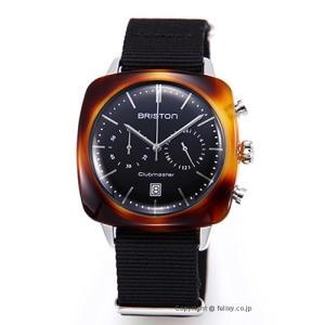 ブリストン BRISTON 腕時計 Clubmaster Vintage Chronograph 17140.SA.TV.1.NB|trend-watch