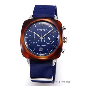 ブリストン BRISTON 腕時計 Clubmaster Vintage Chronograph 17140.SA.TV.15.NNB|trend-watch