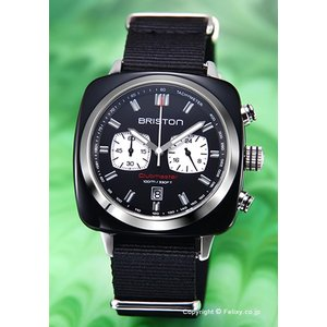 ブリストン BRISTON 腕時計 Clubmaster Sport Chronograph 17142.SA.BS.1.NB|trend-watch