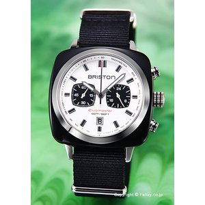ブリストン BRISTON 腕時計 Clubmaster Sport Chronograph 17142.SA.BS.2.NB|trend-watch