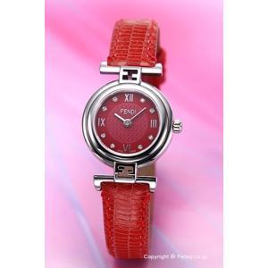 フェンディ FENDI 腕時計 Moda レッド レディース F271277D|trend-watch