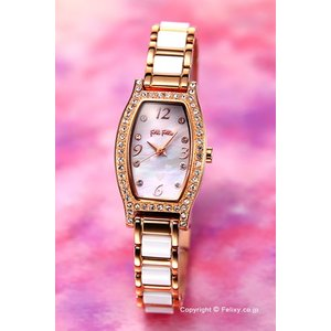 フォリフォリ FOLLI FOLLIE 腕時計 レディース Debutant Winter Wishes WF14B022BSW|trend-watch