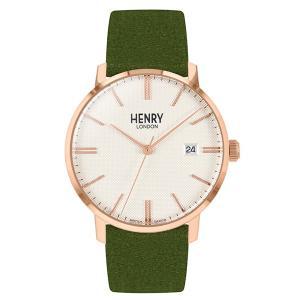 ヘンリーロンドン 時計 HENRY LONDON 腕時計 メンズ レディース Regency Suede HL40-S-0362 trend-watch