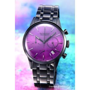 キャサリンハムネット 腕時計 クロノグラフ KH23C4-B44|trend-watch