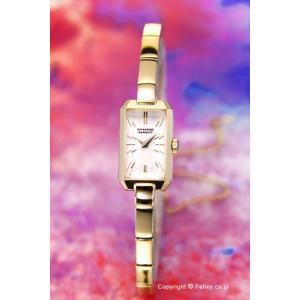 キャサリンハムネット 腕時計 レディース KH8804-B08 アンティーク レクタングル ホワイト trend-watch