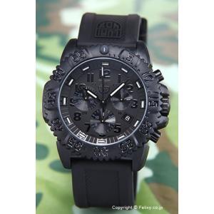 ルミノックス 腕時計 メンズ NAVY SEALs DIVE WATCH 3080 COLORMARK CHRONOGRAPH (ネービーシールズ クロノグラフ) ブラックアウト 3081.BO|trend-watch