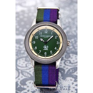 スマートターンアウト 腕時計 STJ-002KH SC/18 Teddington (テディントン) カーキグリーン|trend-watch