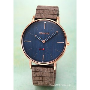 ウィーウッド WE WOOD 腕時計 Albacore Rose Gold Blue|trend-watch
