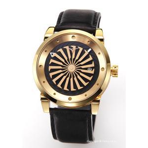 ジンボ ZINVO 腕時計 Blade 12K Gold (ブレード 12Kゴールド)|trend-watch