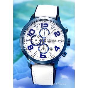 エンジェルクローバー ANGEL CLOVER 腕時計 メンズ  Luce LU44BNV-WH|trend-watch
