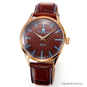 B.H.WATCHES ビーエイチウォッチ 腕時計 メンズ W40RGBRLB イタリア製ハンドメイド|trend-watch
