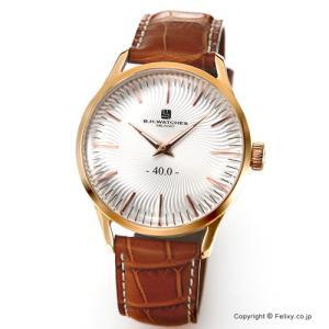 B.H.WATCHES ビーエイチウォッチ 腕時計 メンズ W40RGSLRG イタリア製ハンドメイド|trend-watch