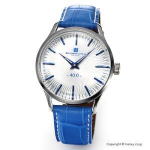 B.H.WATCHES ビーエイチウォッチ 腕時計 メンズ W40STSVBL イタリア製ハンドメイド|trend-watch