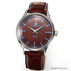 B.H.WATCHES ビーエイチウォッチ 腕時計 メンズ W40STBRLB イタリア製ハンドメイド|trend-watch