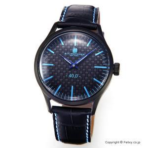 B.H.WATCHES ビーエイチウォッチ 腕時計 メンズ W40BKBKLB イタリア製ハンドメイド|trend-watch