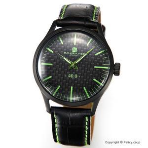 B.H.WATCHES ビーエイチウォッチ 腕時計 メンズ W40BKBKGR イタリア製ハンドメイド|trend-watch