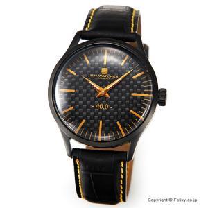 B.H.WATCHES ビーエイチウォッチ 腕時計 メンズ W40BKBKOR イタリア製ハンドメイド|trend-watch