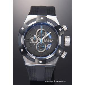 ブレラオロロジ 腕時計 メンズ BRERA OROLOGI スーパースポルティーボ ブラック×シルバー BRSSC4901 trend-watch