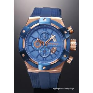 ブレラオロロジ 腕時計 メンズ BRERA OROLOGI スーパースポルティーボ ブルースティール×ローズゴールド/ネイビーブルーラバー BRSSC4910 trend-watch