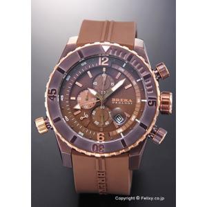 ブレラオロロジ 腕時計 メンズ BRERA OROLOGI Sottomarino Diver (ソットマリノ ダイバー) ブラウン×ローズゴールド BRDVC4705 trend-watch