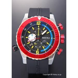 ブレラオロロジ 腕時計 メンズ BRERA OROLOGI Sottomarino Diver (ソットマリノ ダイバー) ブラック×レッド×ローズゴールド BRDVC4710 trend-watch