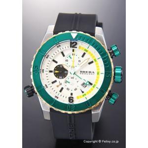 ブレラオロロジ 腕時計 メンズ BRERA OROLOGI ソットマリノ ダイバー ホワイトシルバー×グリーン×ゴールド BRDVC4711 trend-watch