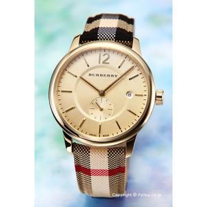バーバリー 腕時計 メンズ BURBERRY BU10001 クラシックラウンド ハニーゴールド|trend-watch