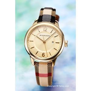 バーバリー 腕時計 レディース BURBERRY BU10104 クラシックラウンド ハニーゴールド trend-watch