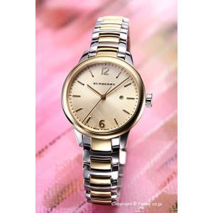 バーバリー BURBERRY 腕時計 レディース The Classic Round ゴールド×シルバー BU10118|trend-watch