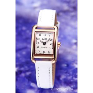 コーチ 腕時計 レディース COACH 14502298 トンプソン オフホワイト×ローズゴールド|trend-watch
