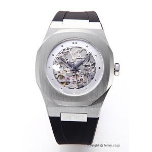 D1 MILANO D1 ミラノ 腕時計 スケルトン コレクション シルバー A-SK01 自動巻き|trend-watch