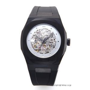 D1 MILANO D1 ミラノ 腕時計 スケルトン コレクション ブラック A-SK03 自動巻き [国内正規代理店商品]|trend-watch