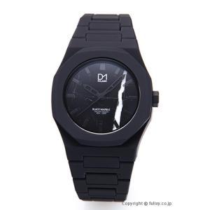 D1 MILANO D1 ミラノ 腕時計 Marble Collection (マーブル コレクション) ブラック A-MA01 [国内正規代理店商品]|trend-watch