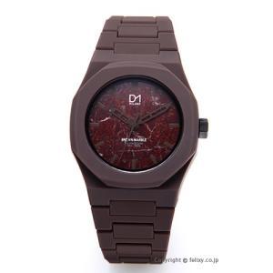 D1 MILANO D1 ミラノ 腕時計 Marble Collection (マーブル コレクション) ブラウン MB-06 [国内正規代理店商品]|trend-watch