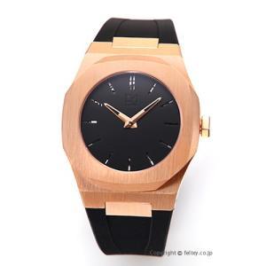 D1 ミラノ D1 MILANO 腕時計 Mechanical Collection (メカニカル コレクション) ブラック×ローズゴールド A-MC04 [国内正規代理店商品]|trend-watch