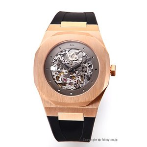 D1 ミラノ D1 MILANO 腕時計 Skelton Collection (スケルトン コレクション) ローズゴールド A-SK04|trend-watch