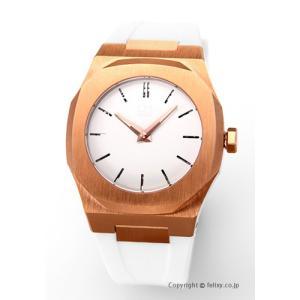 D1 ミラノ D1 MILANO 腕時計 Mechanical Collection (メカニカル コレクション) ホワイト×ローズゴールド A-MC06|trend-watch