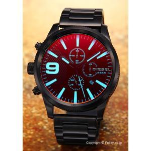 ディーゼル DIESEL 腕時計 メンズ Rasp Chrono ブラックポラライザー DZ4447|trend-watch
