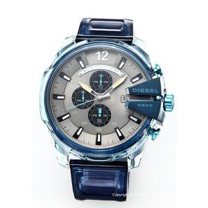 【ディーゼル腕時計】 サイズ:メンズ ケースサイズ:縦59mm×横51mm×厚さ14mm バンド素材...