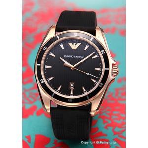 エンポリオアルマーニ EMPORIO ARMANI 腕時計 メンズ Sportivo Sigma ブラック×ローズゴールド AR11101|trend-watch