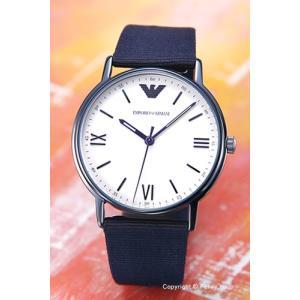 エンポリオアルマーニ EMPORIO ARMANI 腕時計 Kappa Changestrap Giftset ネイビー AR80005|trend-watch