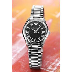 エンポリオアルマーニ EMPORIO ARMANI 腕時計 Valente Collection ブラック レディース AR11088|trend-watch