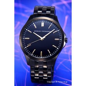 アルマーニ エクスチェンジ 腕時計 メンズ Armani Exchange AX2144 ハンプトン オールブラック(ゴールド)|trend-watch