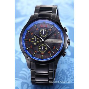 アルマーニ エクスチェンジ 腕時計 メンズ Armani Exchange AX2191 オールブラック(マルチカラー)|trend-watch