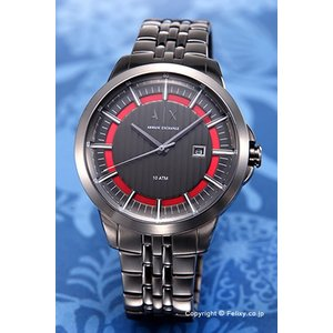 アルマーニ エクスチェンジ 腕時計 メンズ Armani Exchange AX2262 スマート ガンメタル(レッド)|trend-watch