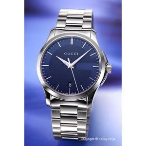 グッチ 腕時計 メンズ GUCCI YA126440 G-タ...