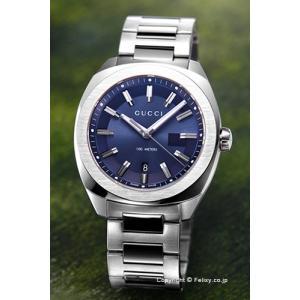 グッチ GUCCI 腕時計 メンズ GG2570 L ネイビー YA142303|trend-watch