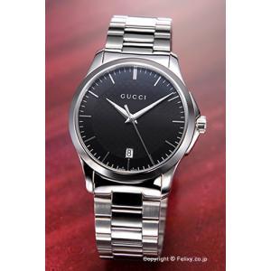グッチ GUCCI 腕時計 メンズ G-Timeless Collection ブラック YA126457|trend-watch