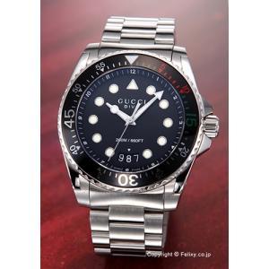 グッチ GUCCI 腕時計 メンズ Dive Collection (ダイヴ コレクション) ブラック YA136208|trend-watch